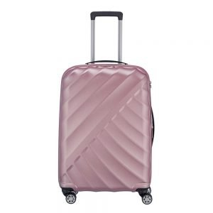 Titan Shooting Star 4 Wiel Trolley M Expandable rose Harde Koffer