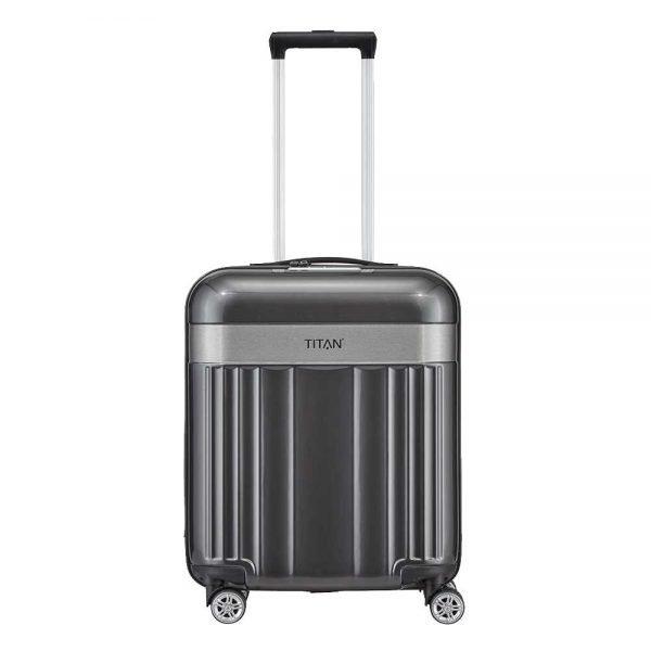 Titan Spotlight Flash 4 Wiel Trolley S antracite Harde Koffer