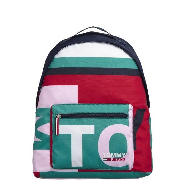 Tommy Hilfiger TJW Campus Backpack white backpack