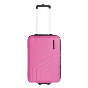 Travelbags Barcelona Handbagage koffer - 55 cm - 2 wielen dark pink Harde Koffer