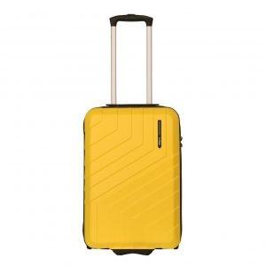 Travelbags Barcelona Handbagage koffer - 55 cm - 2 wielen yellow Harde Koffer