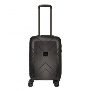 Travelbags Londen 4 Wheel Trolley 55 black Harde Koffer