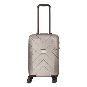 Travelbags Londen 4 Wheel Trolley 55 champagne Harde Koffer
