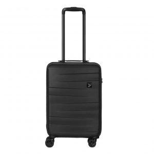 Travelbags Stockholm 4 Wheel Trolley 55 black Harde Koffer