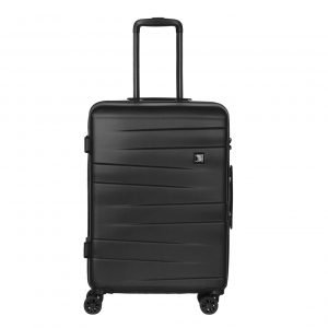 Travelbags Stockholm 4 Wheel Trolley 65 black Harde Koffer