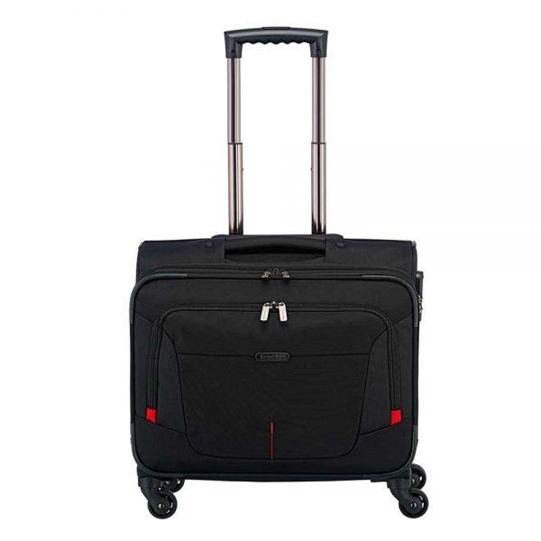 Travelite @Work 4 Wiel Businesswheeler black Pilotenkoffer