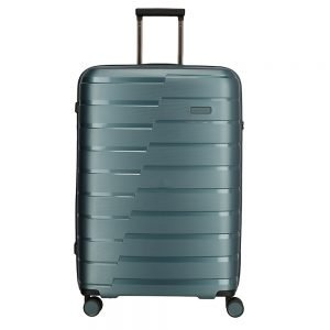 Travelite Air Base 4 Wiel Trolley L ice blue Harde Koffer