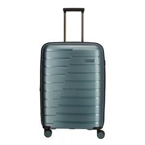 Travelite Air Base 4 Wiel Trolley M Expandable ice blue Harde Koffer