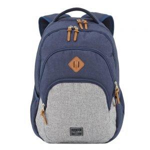 Travelite Basics Backpack Melange navy/grey backpack