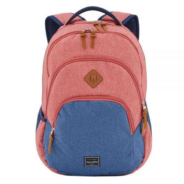 Travelite Basics Backpack Melange red/navy backpack