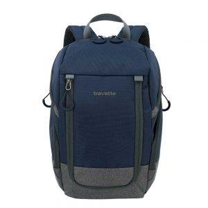 Travelite Basics Backpack navy / grey backpack