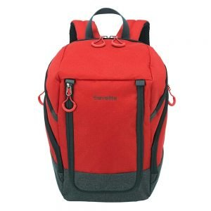 Travelite Basics Backpack red / grey backpack