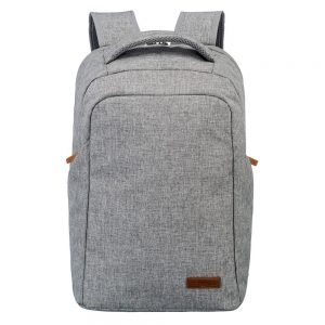 Travelite Basics Safety Backpack light grey backpack