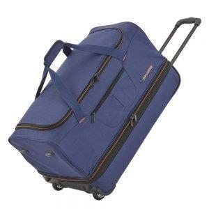 Travelite Basics Wheeled Duffle 70 Expandable marine / orange Trolley Reistas