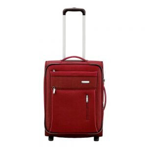 Travelite Capri 2 Wiel Trolley S Expandable red Zachte koffer