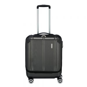 Travelite City 4 Wiel Trolley S Business anthracite Harde Koffer