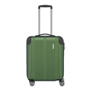 Travelite City 4 Wiel Trolley S green Harde Koffer