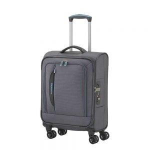 Travelite Crosslite 4 Wiel Trolley S anthracite Zachte koffer