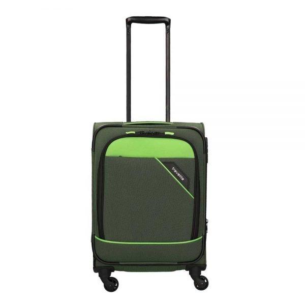 Travelite Derby 4 Wiel Trolley 55 green Zachte koffer