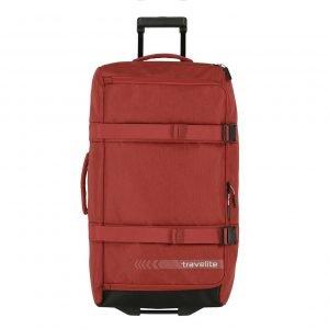 Travelite Kick Off Wheeled Duffle L red Reistas