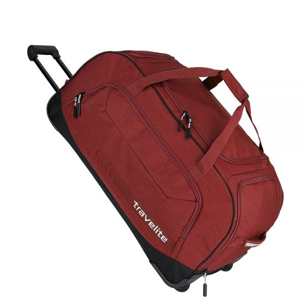 Travelite Kick Off Wheeled Duffle red Handbagage koffer Trolley