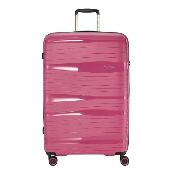 Travelite Motion 4w Trolley L rose Harde Koffer