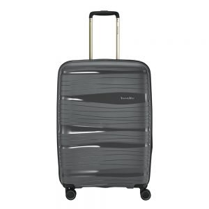 Travelite Motion 4w Trolley M expandable anthracite Harde Koffer