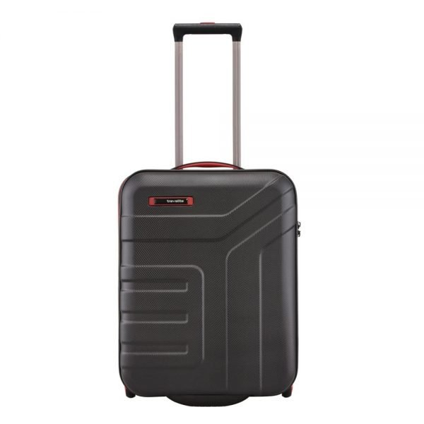 Travelite Vector 2 Wiel Trolley S black Harde Koffer