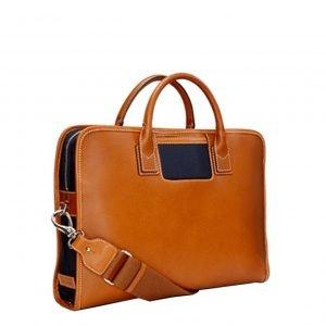 Travelteq Briefcase Messenger cognac/navy
