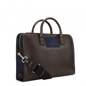 Travelteq Briefcase Messenger espresso/navy