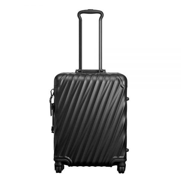 Tumi 19 Degree Aluminium Continental Carry-On matte black Harde Koffer