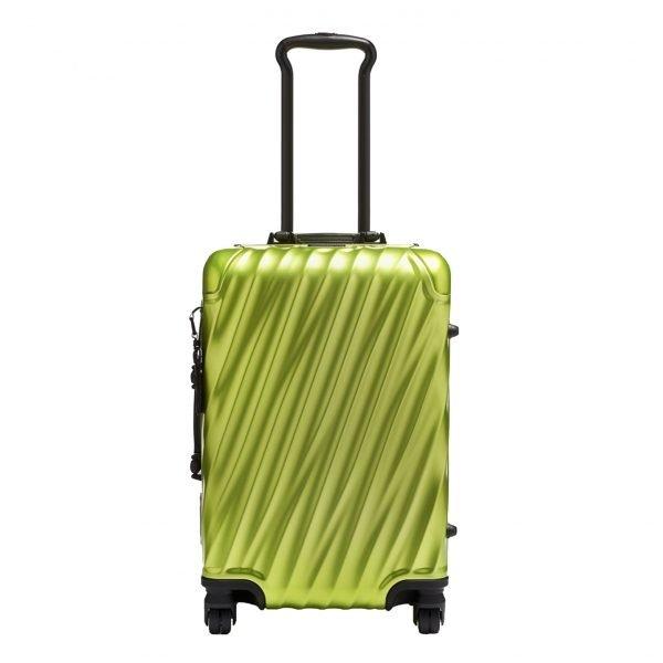 Tumi 19 Degree Aluminium International Carry-On brightlime Harde Koffer