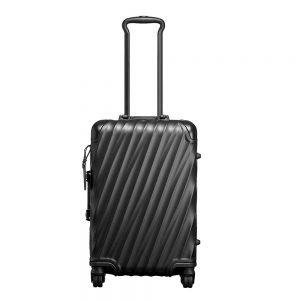 Tumi 19 Degree Aluminium International Carry-On matte black Harde Koffer