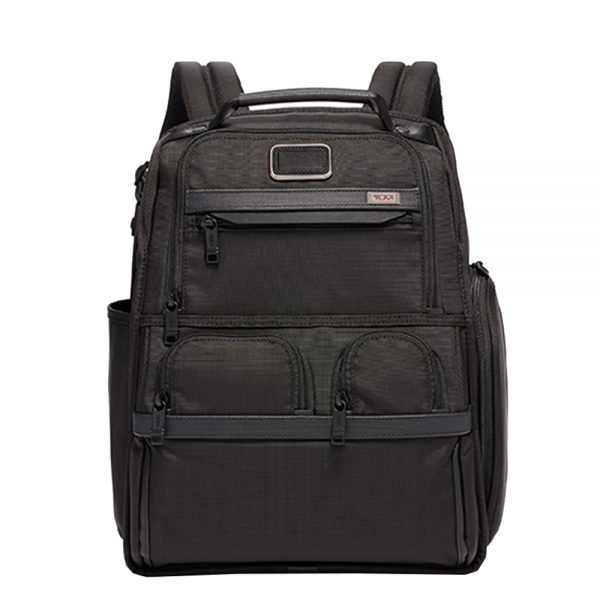 Tumi Alpha 2 Business/Travel Compact Laptop Brief Pack black backpack