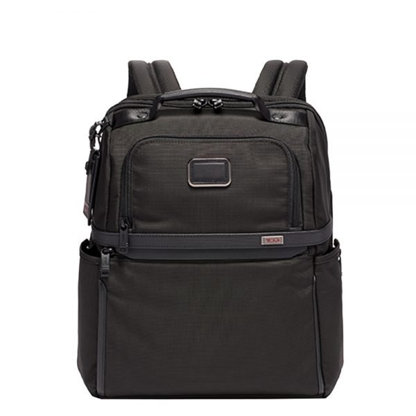 Tumi Alpha 2 Business/Travel Slim Solutions Brief Pack black backpack