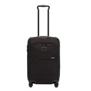 Tumi Alpha 3 International Office Carry-On black Zachte koffer