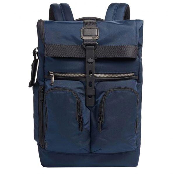 Tumi Alpha Bravo Lance Backpack navy backpack