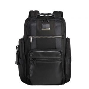 Tumi Alpha Bravo Sheppard Deluxe Brief Pack black backpack