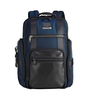 Tumi Alpha Bravo Sheppard Deluxe Brief Pack navy backpack