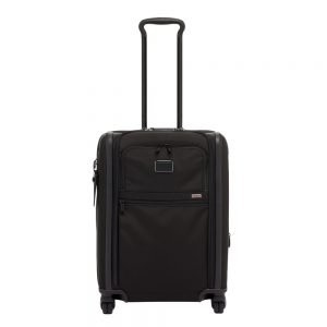 Tumi Alpha Continental Dual Access 4 Wheeled Carry-On black Zachte koffer