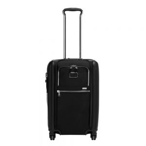 Tumi Alpha International Dual Access Carry-On black chrome Zachte koffer
