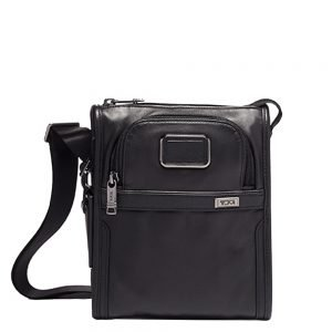 Tumi Alpha Pocket Bag Small Leather black Herentas