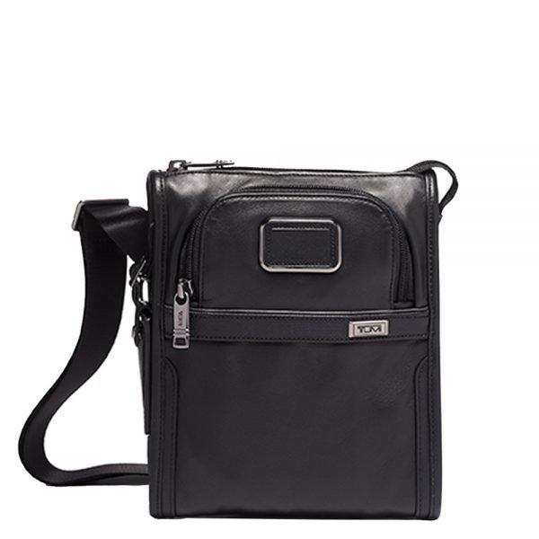Tumi Alpha Pocket Bag Small Leather black Herentas