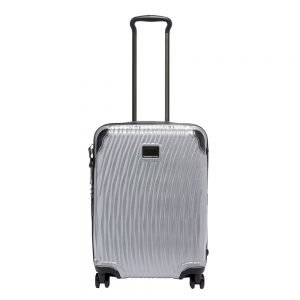 Tumi Latitude Continental Carry-On silver Harde Koffer