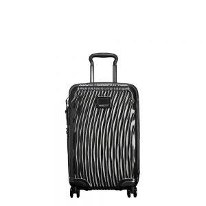 Tumi Latitude International Slim Carry-On black Harde Koffer