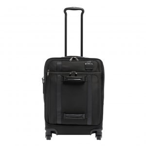 Tumi Merge Continental Front Lid 4 Wheeled Carry-On black Zachte koffer