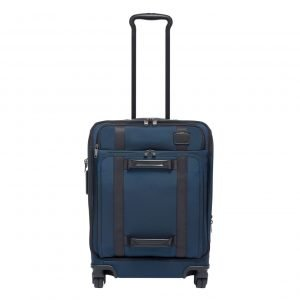 Tumi Merge Continental Front Lid 4 Wheeled Carry-On navy Zachte koffer