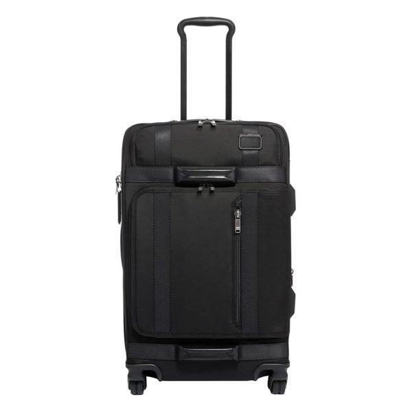 Tumi Merge Expandable 4 Wheeled black Zachte koffer