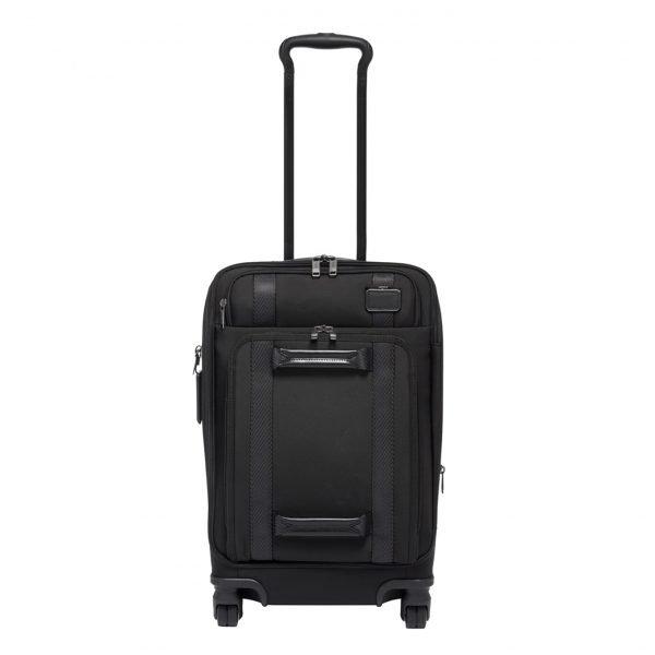 Tumi Merge International Front Lid 4 Wheeled Carry-On black Zachte koffer
