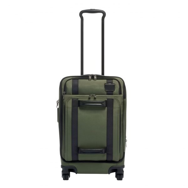Tumi Merge International Front Lid 4 Wheeled Carry-On forest Zachte koffer
